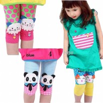 BUY 1 GET 1 FREE ~Cutevina~ Girl Cute Legging (1-4 th)-MOTIF RANDOM