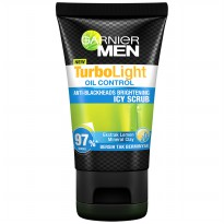 Garnier Men Turbolight Oil Control Icy Scrub 50ml
