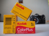 Rol Film Kodak Color Plus 200 Kamera Analog 35mm 36 Exp Fresh