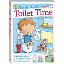 [HelloPandaBooks] Ready to Go! Toilet Time - A Training Kit for Boys