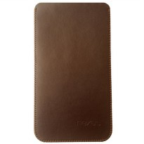 [Dijamin] Primary Original HUAWEI Nexus 6P Leather Pouch BROWN