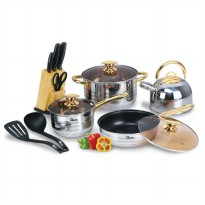 OX-777 Rosegold Cookware Set Oxone