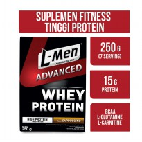 L-Men Hi Protein Whey Advanced Cappucino 250 Gr