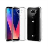 Crystal Case for LG V30 / V30+ / H930 - Clear Hardcase + Gratis Tempered Glass