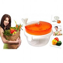 Twisting Vegetable Chopper Alat Cincang Bawang Sayuran Lombok Dapur Ok