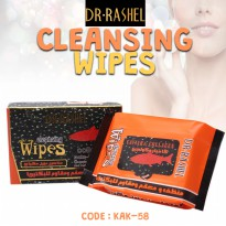 Dr Rashel Cleansing Wipes For Make Up-Caviar & Collagen (Tisu Caviar) - KAK-58