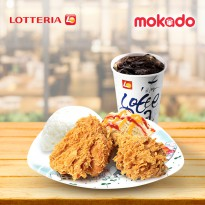 [LOTTERIA] Ayam Set / Chicken Ria Set B