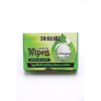 Dr Rashel Cleansing Wipes For Make Up Silk&Collagen(Tisu Silk)