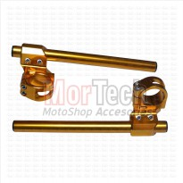 Stang - Stir - Setang Jepit - Clip on NUI CNC Byson 41 Gold