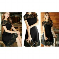 Dress Frasia Brukat 1144R