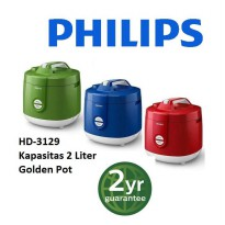 PHILIPS Rice Cooker HD - 3129 2 Liter / MERAH