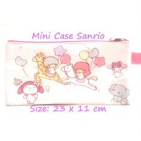 Mini Case Character Sanrio Pink Muda Pencil Case Stationary Organizer