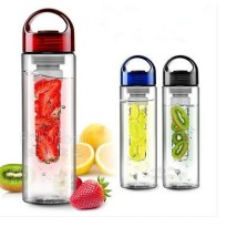 Tritan Water Bottle With Fruit Infuser BPA Free Botol Minum SehatAlami