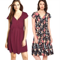 New Collection! Women Dress F21 - Premium Quality - Best Seller - 4 Colors - Dress Bold Style - Women Dress - Dress Wanita Branded