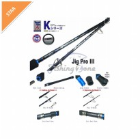 Expert JIG PRO III One Section Casting Jig Rod JPC 58136 - PE 3-6