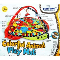 Pumpee Playmate Colorful Animal Mat