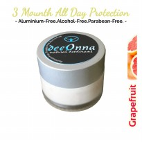 Aluminium-Free GRAPEFRUIT Natural Deodorant deeOnna All Day Protection Up To 3 Months