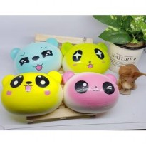 Squishy Kepala Panda Warna Jumbo / Big
