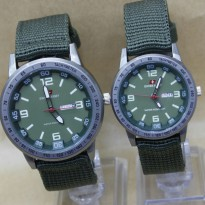Swiss Army Sepasang Kanvas Green