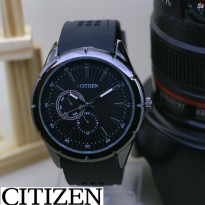 Jam Tangan Pria Citizen Rubber Chrono Active Black