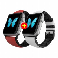 PAKET COMBO MERDEKA - Patchworks Air Strap for Apple Watch 42mm - Red