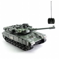 Mainan Remote Control Tank Army Special Steel Edition