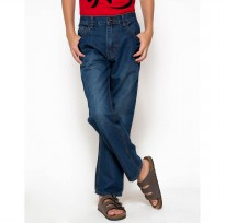 Nevada Regular Fit Jeans Anak Laki-Laki - Biru size 15-16