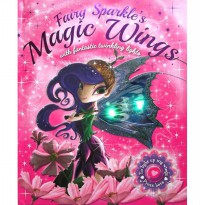 [Xivan] FairySparkle's Magic Wings Story Book with fantastic twinkling lights