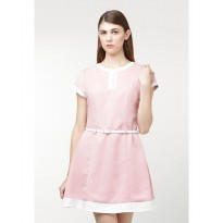 Heart and Feel Dealona Baby Pink Dress 1159.D
