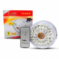 [XRB] Lampu emergency Fitting TG-635-R (35 LED) 2 mode light warm & White