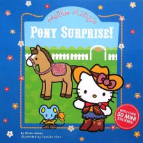 [Xivan] Hello Kitty's Pony Surprise! Story Book with over 50 Sparkling Glittery Stickers!