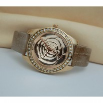 Guess Flower Brown Rosegold
