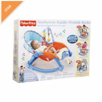 Fisher Price Newborn-to-Toddler Portable Rocker Biru/kursi bayi