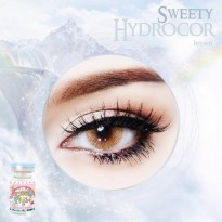 LIMITED Soflens Sweety Hydrocor Brown ( Cokelat ) / Softlens
