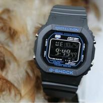 Jam Tangan Pria G Shock Gls 5600 Black List Blue