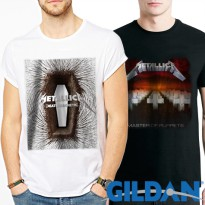 Metallica Series Kaos Band Original Gildan | Limited Stock !!!