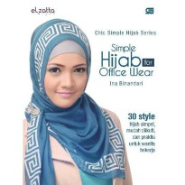 [SCOOP Digital] Chic Simple Hijab Series: Simple Hijab for Office Wear by Elzatta Hijab