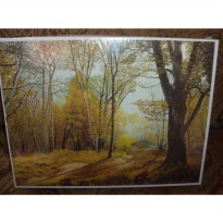 [poledit] Mouth andFoot Paintings Forest Landscape 1000 Piece Puzzle From Mouth Painting B/11885922