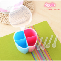 [ APPLE ] Tempat Bumbu unik / Toples BUMBU Apple Buah Apel