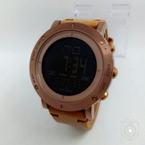 Jam Tangan Pria Suunto Kulit Digital Light Brown