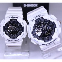 G Shock Ga 110 Sepasang Anti Air White Cover List Black