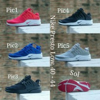 Sepatu nike Presto Low men New coll !!!