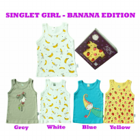 KAZEL SINGLET BANANA EDITION 4IN1