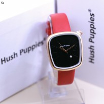 Hush Puppies Clasic Kecil Red Cover Black