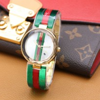 Gucci Mika Tanggal Green Red (Gold)