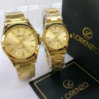 Lorenzo Sepasang Rantai Ori Anti Air Full Gold