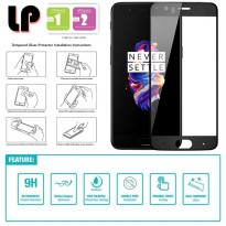 LP Full Tempered Glass OnePlus 5 - Five