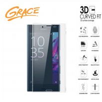 Grace Sony Xperia X / F5122 Tempered Glass - 3D Curved Full Cover - Clear