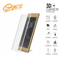 Grace Sony Xperia X Performance / F8132 Tempered Glass - 3D Curved Full Cover - Clear