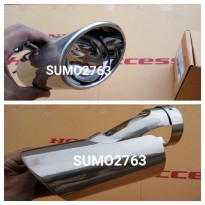 PREMIUM exh pipe finisher honda civic 2012-2015 ori honda access